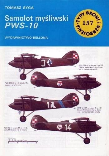 Okładka książki Samolot myśliwski PWS-10