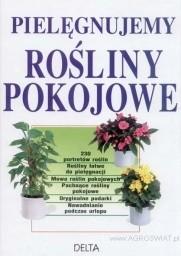 Okładka książki Pielęgnujemy rośliny pokojowe
