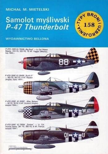 Okładka książki Samolot myśliwski P-47 Thunderbolt