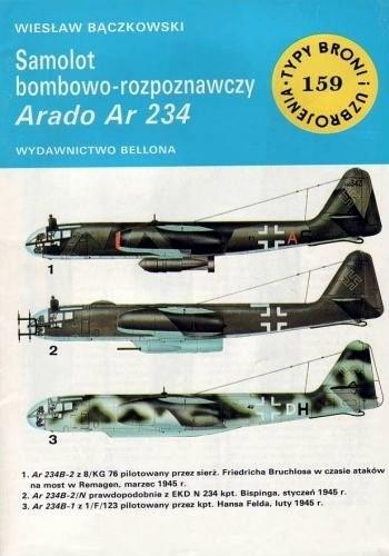 Okładka książki Samolot bombowo-rozpoznawczy Arado Ar 234