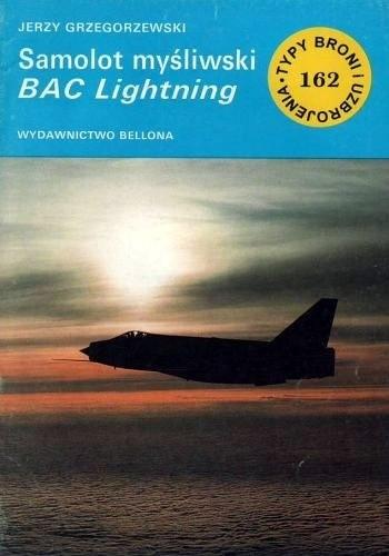 Okładka książki Samolot myśliwski BAC Lightning