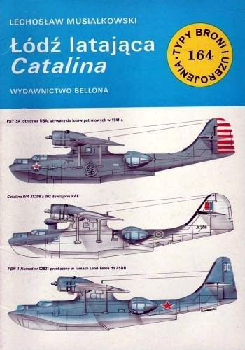 Okładka książki Łódź latająca Catalina