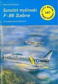 Okładka książki Samolot myśliwski F-86 Sabre
