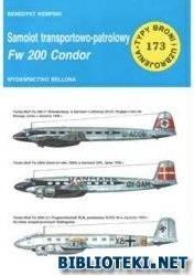 Okładka książki Samolot transportowo - patrolowy Fw 200 Condor