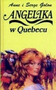 Okładka książki Angelika w Quebecu