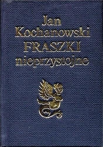 Okładka książki Fraszki nieprzystojne