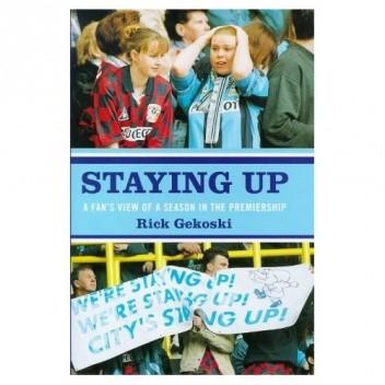 Okładka książki Staying Up
