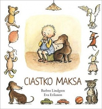 Okładka książki Ciastko Maksa