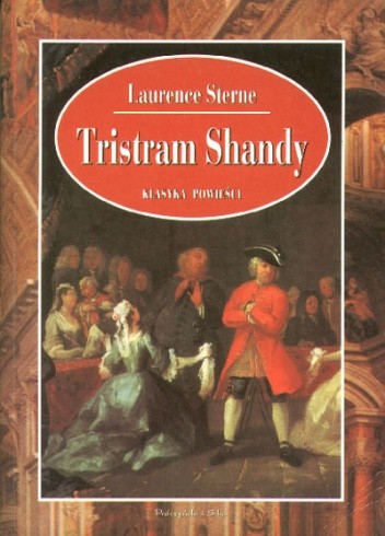 Okładka książki Tristram Shandy