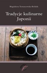 Okładka książki Tradycje kulinarne Japonii