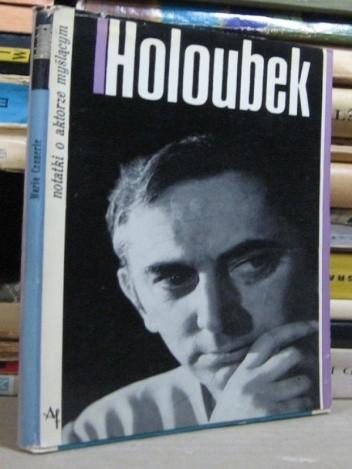 Okładka książki Gustaw Holoubek. Notatki o aktorze myślącym
