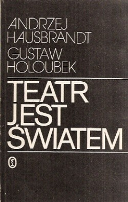 Okładka książki Teatr jest światem