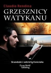 Okładka książki Grzesznicy Watykanu