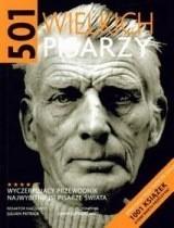 Okładka książki 501 wielkich pisarzy