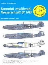 Okładka książki Samolot myśliwski Messerschmitt Bf-109F