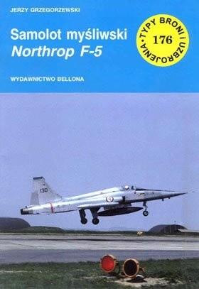 Okładka książki Samolot myśliwski Northrop F-5