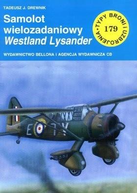 Okładka książki Samolot wielozadaniowy Westland Lysander