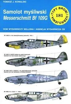 Okładka książki Samolot myśliwski Messerschmitt Bf 109G