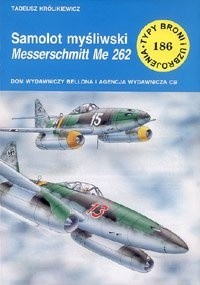 Okładka książki Samolot myśliwski Messerschmitt Me 262