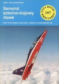 Okładka książki Samolot szkolno-bojowy Hawk