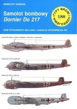 Okładka książki Samolot bombowy Dornier Do 217