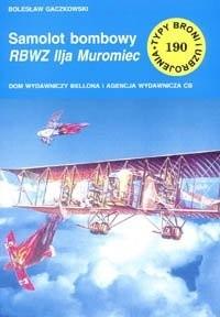 Okładka książki Samolot bombowy RBWZ Ilja Muromiec