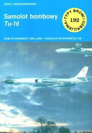 Okładka książki Samolot bombowy Tu-16