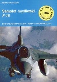 Okładka książki Samolot myśliwski F-16