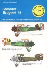 Okładka książki Samolot Breguet 14