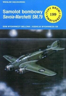 Okładka książki Samolot bombowy Savoia-Marchetti SM.79