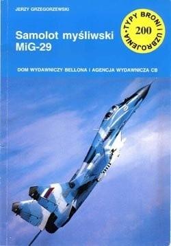 Okładka książki Samolot myśliwski MiG-29
