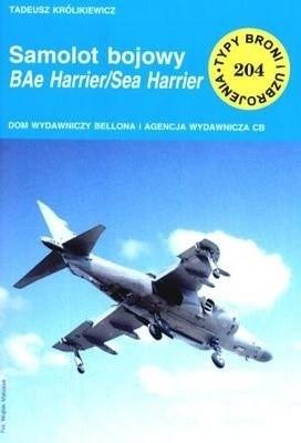 Okładka książki Samolot bojowy BAe Harrier/Sea Harrier