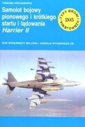Okładka książki Samolot bojowy pionowego i krótkiego startu i lądowania Harrier II'