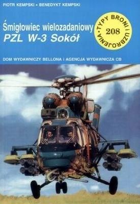 Okładka książki Śmigłowiec wielozadaniowy PZL W-3 Sokół
