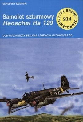 Okładka książki Samolot szturmowy Henschel Hs 129