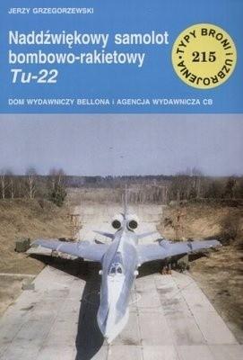 Okładka książki Naddźwiękowy samolot bombowo-rakietowy Tu-22