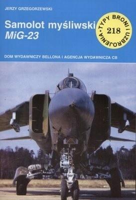 Okładka książki Samolot myśliwski MiG-23