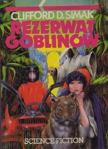 Okładka książki Rezerwat goblinów