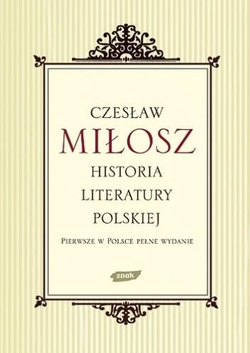 Okładka książki Historia literatury polskiej