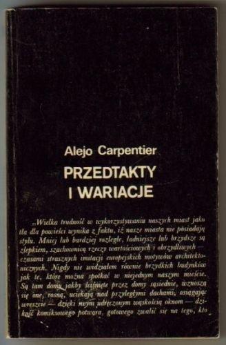 Okładka książki Przedtakty i wariacje