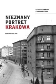 Okładka książki Nieznany portret Krakowa