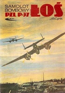 Okładka książki Samolot bombowy PZL P-37 Łoś