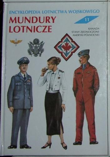 Okładka książki Encyklopedia lotnictwa wojskowego - Mundury Lotnicze.