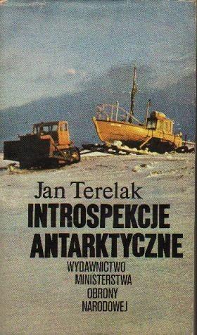 Okładka książki Introspekcje Antarktyczne