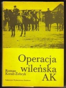 Okładka książki Operacja wileńska AK