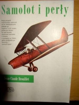 Okładka książki Samolot i perły