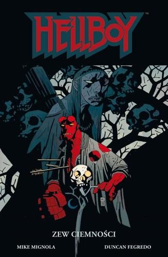 Okładka książki Hellboy: Zew Ciemności