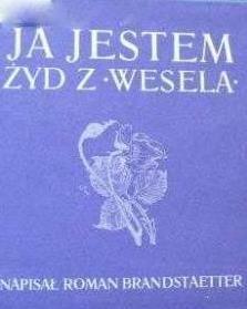 Okładka książki Ja jestem Żyd z 'Wesela'
