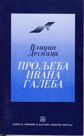 Okładka książki Proljeća Ivana Galeba