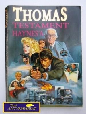 Okładka książki Testament Haynes'a